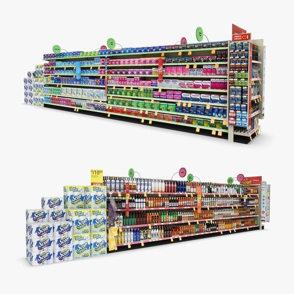 3D aisle 16 - model