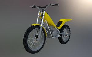 trials bike 3D model