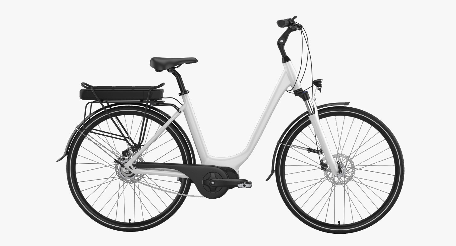 3D electric bike 4 model