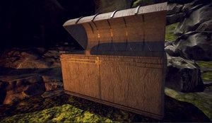 mediocre treasure chest 3D