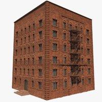 3D building architectural model