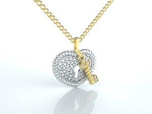 print jewellery 3D model