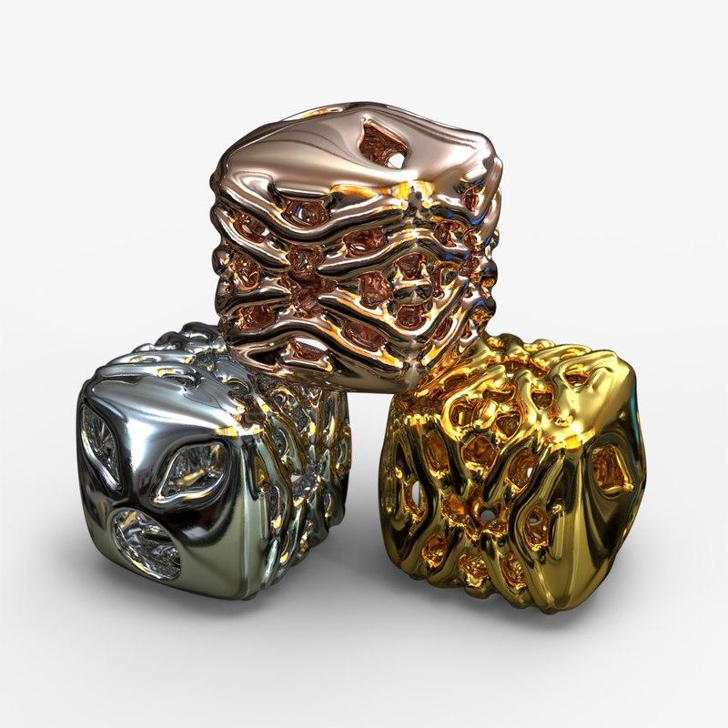 3D jewelry charm pa v11f