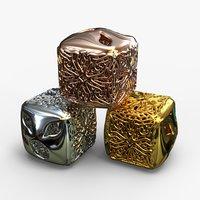 jewelry charm pa v11f 3D model