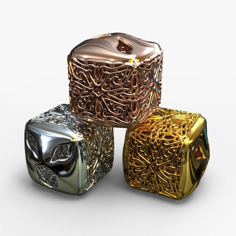 jewelry charm pa v11f 3D