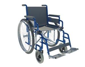 3D wheel chair model