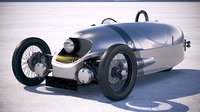 morgan 3 wheeler 3D model