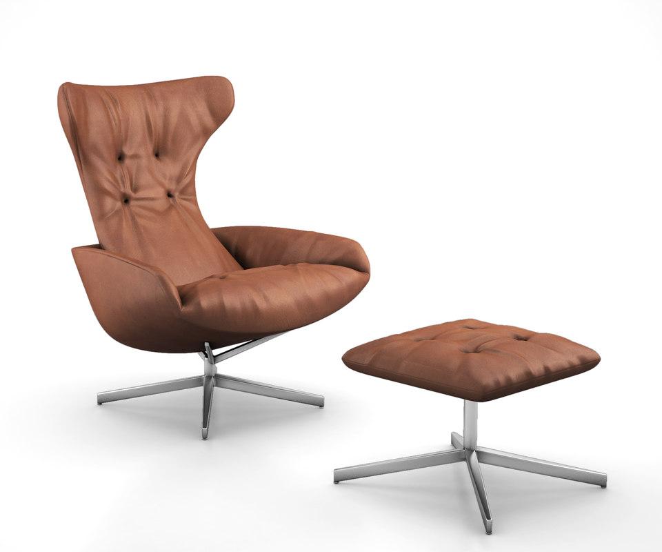 3D onsa chair walter knoll