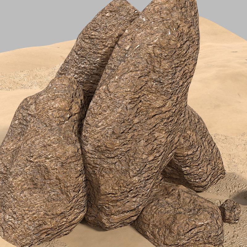 3D rock games cliffs