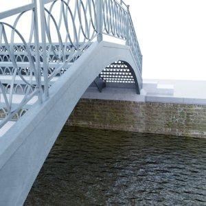 venice bridge model