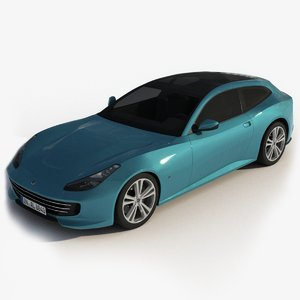 generic sports car model