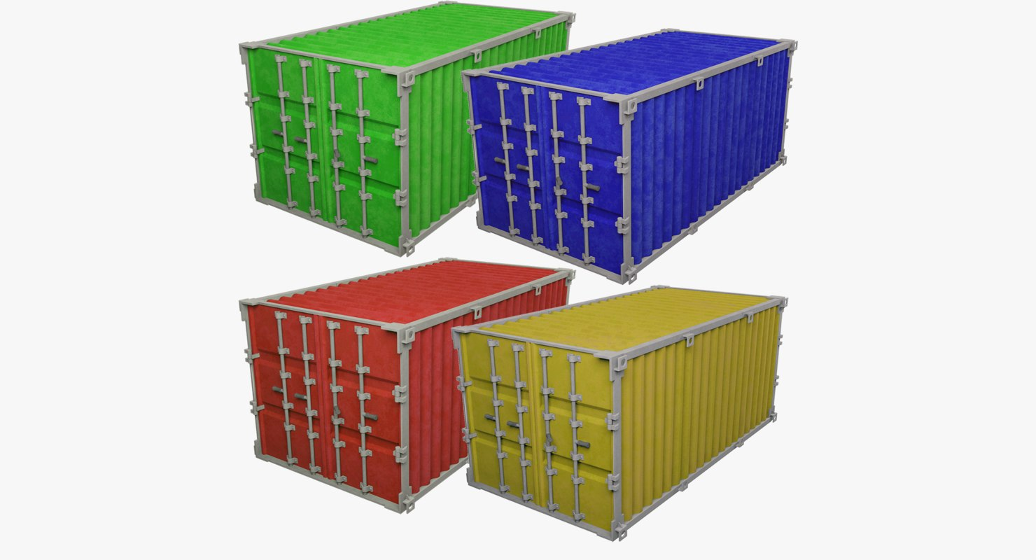 3D cargo containers v1