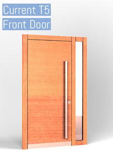 door opened closed 3D