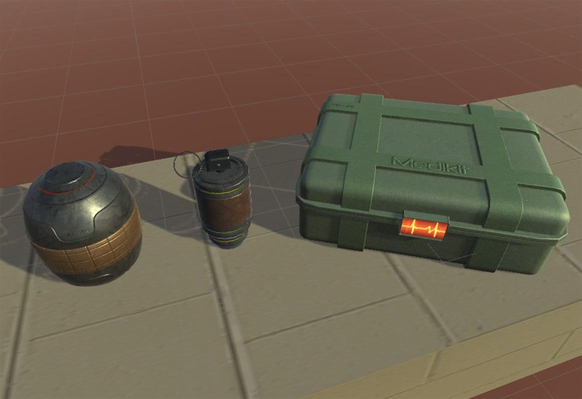 3D bombs medikit
