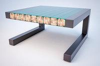 industrial wood resin 3D model