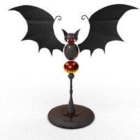 3D halloween bat