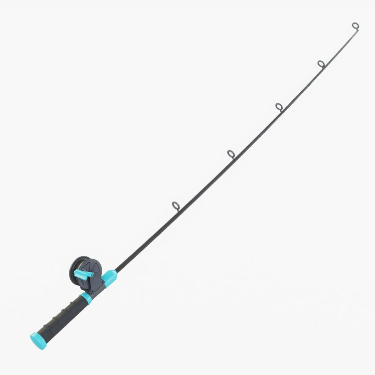 fishing pole model
