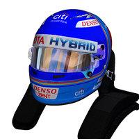Alonso WEC helmet 2018