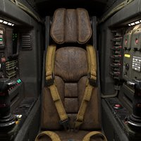 Sci-Fi Cockpit