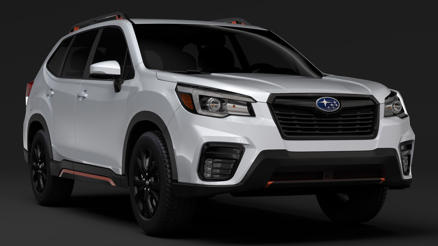 Subaru Forester 2019 3d Model Turbosquid 1293739