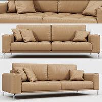 calligaris vegas sofa 3D