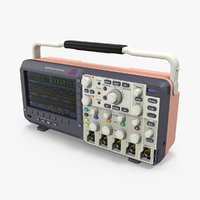 3D digital oscilloscope generic model