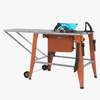 3D model circular saw table generic
