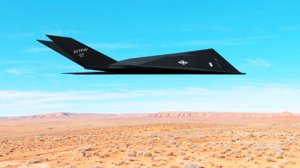 3D f117 stealth