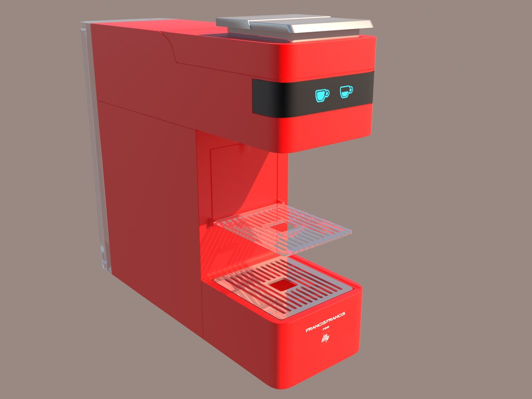 3D francis coffee machines model
