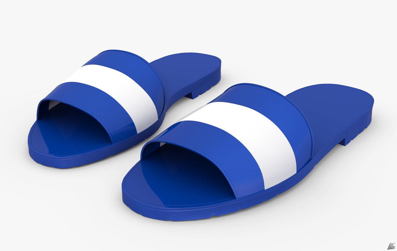 apparel footwear shoes 3D