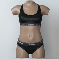 lingerie mannequin 3D model
