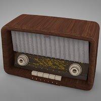 philips philetta radio b2x63u 3D model