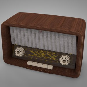 philips philetta radio b2x63u 3D model