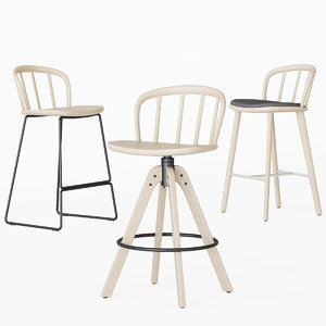 3D model nym stool