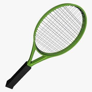 tennis racquet l017 3D