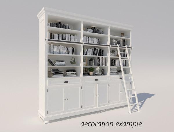 3D shelf wood