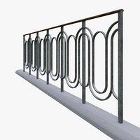 3D architectural railing
