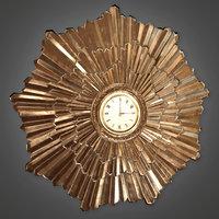 Wall Clock (Art Deco) - PBR Game Ready