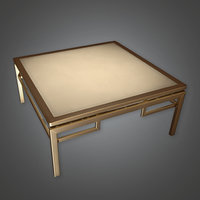 Table 04 (Art Deco) - PBR Game Ready