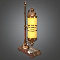 Lamp 06 (Art Deco) - PBR Game Ready