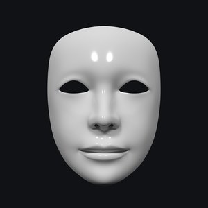 3D neutral mask
