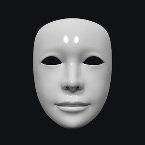 3D neutral mask