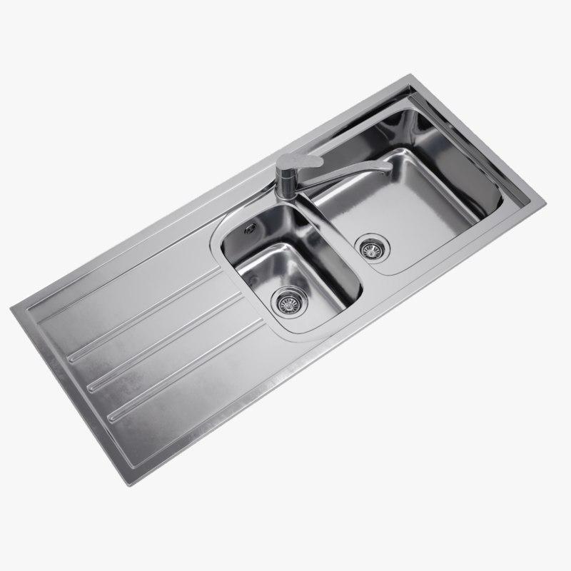 lightwave sink 3D model
