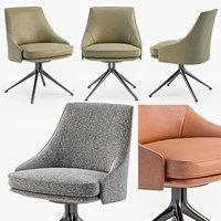 poliform stanford chair 3D