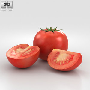 3D tomato tomat