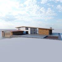 lonely cottage loft 3D