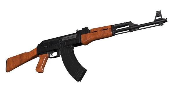 3D model ak-47