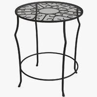 pedestal table model