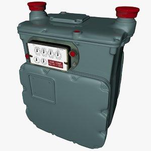 gas meter ac630 l019 model