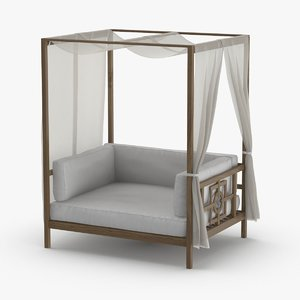 3D transitional-daybed